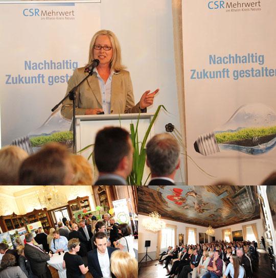 CSR Projekte Beispiele: CSR Projekt Abschluss im Schloss Dyck