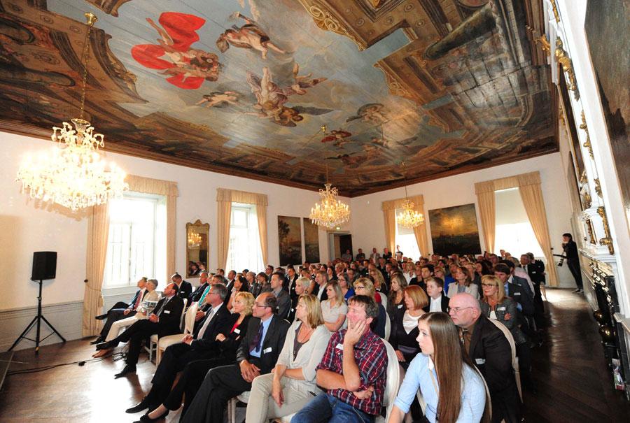 CSR Projekt Abschluss im Schloss Dyck