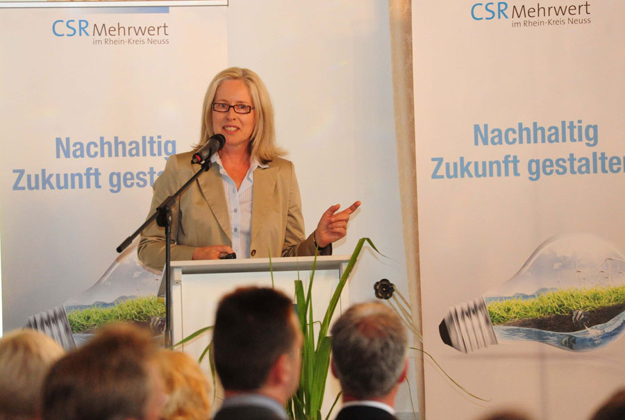 CSR Projekt Nachhaltigkeitsexpertin Elke Vohrmann