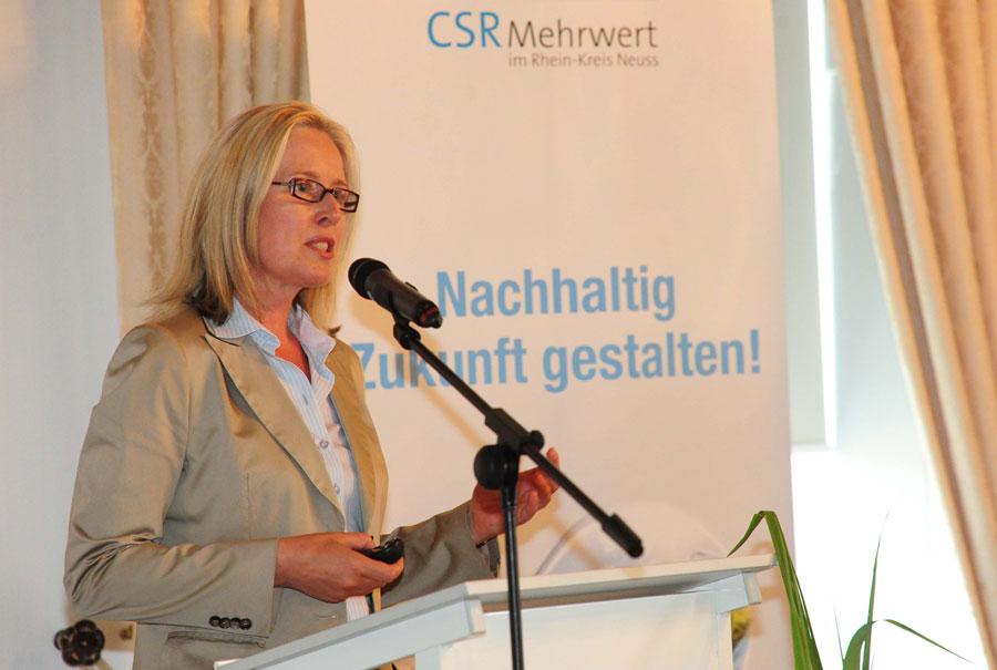 CSR Projekt Präsentation von Elke Vohrmann CSR-Consulting