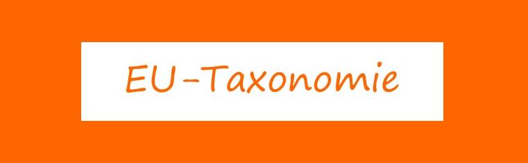 EU Taxonomie